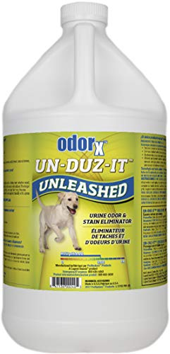 (ODORx Un-Duz-It Unleashed Pet Urine Odor and Stain Eliminator, Highly Effective One-Step Commercial Formula, Enzyme Action, 1.Gal)