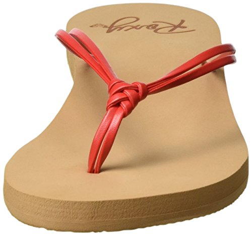 J para Flip Sandalias Flop Sndl Roxy Lahaina Mujer Red Rojo UwFqYR
