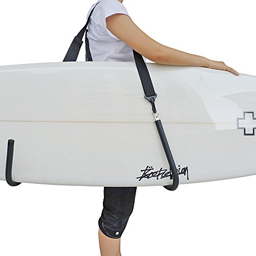 YHOUSE SUP Paddle Board Carry Strap with Double Hook, Durable Surfboard Storage Sling - Longboard Shoulder Carrier by YHOUSE