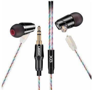 Leasic X8 Ladies HiFi in-ear earphones with microphone