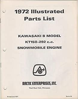 1972 Arctic Cat Snowmobile Engine Kawasaki B Kt150 292 Cc Parts