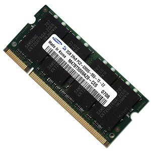 Samsung 2GB DDR2 PC2-5300 200-Pin Laptop (118nr Notebook)