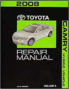2008 toyota camry hybrid repair shop manual original volume 5 only toyota a. Black Bedroom Furniture Sets. Home Design Ideas