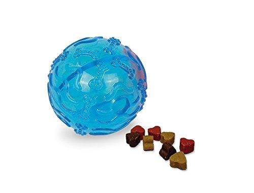 Nobby TPR Snack Ball, blau, Ø 8 cm