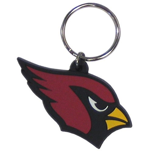 NFL Arizona Cardinals Flex Rubber Key Chain