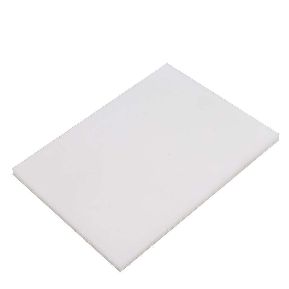 140 /× 120 /× 15mm LJSLYJ PVC-Schneidebrett-wei/ße Gummihammer-Matten-Lederhandwerk-Werkzeuge f/ür das Schneiden des Lochens Stempel