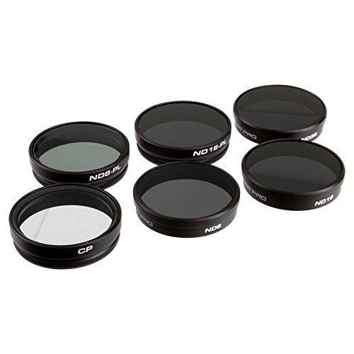 DJI Phantom 4 / Phantom 3 Filter Professional 6-Pack-PolarPro -  PP5002