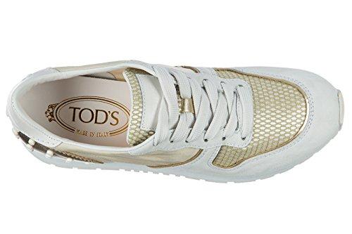 Tod S Damesko Sneakers Damer Ruskind Sko Sneakers Hvid qHQKpQdQH