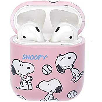 Amazon.com: Soft TPU Pink Snoopy Case for Apple Airpods 1