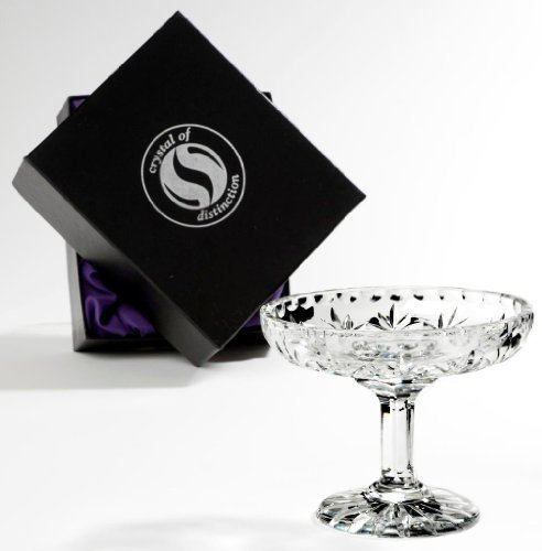 Sgs Crystal Comport / Sweet Dish In Presentation Box - Chelsea