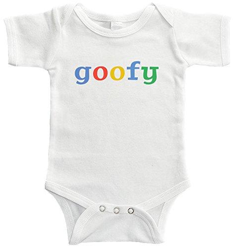 Starlight Baby Goofy Bodysuit (0-3 months, White)]()