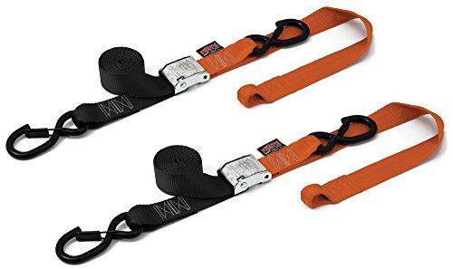PowerTye 29629-S Black/Orange 1 1/2