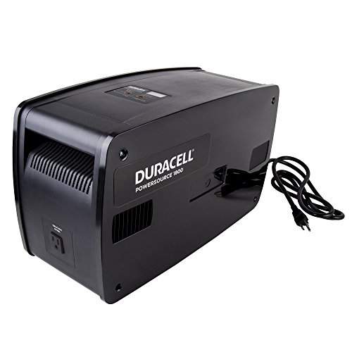 Duracell 852-1807 1,800 Watt Five Outlet Rechargeable Power Source by Duracell (Image #3)