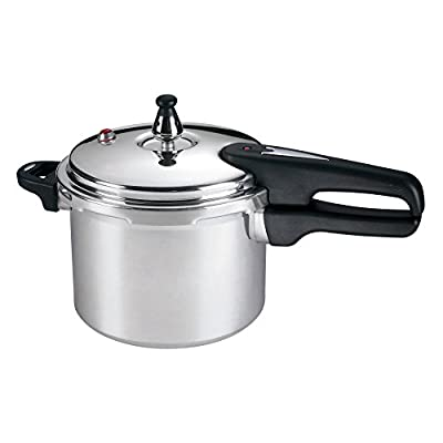 Mirro 92140A 4-Quart Aluminum Pressure Cooker from Englewood Marketing Group Inc
