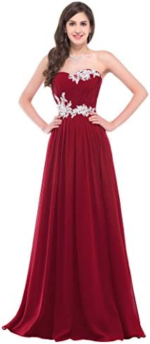 GRACE KARIN لباس شب بدون تسمه بدون تسمه با لوازم جانبی CL6107 (چند رنگ)