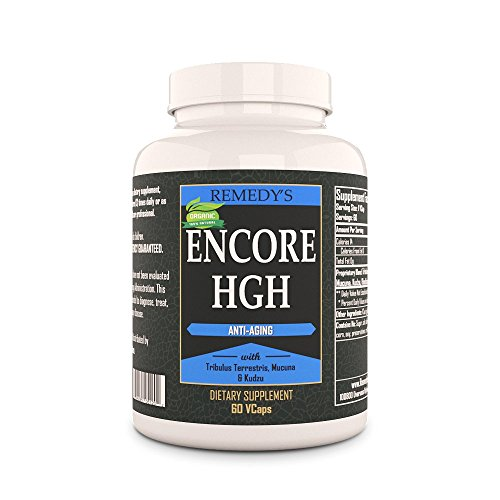 Encore HGH Remedy's Nutrition Organic Vegan 1000 mg / 60.000 mg per bottle Vcaps