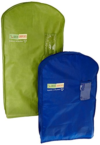 The Green Garmento Reusable Dry Cleaning Bag Set, 40 by 4...