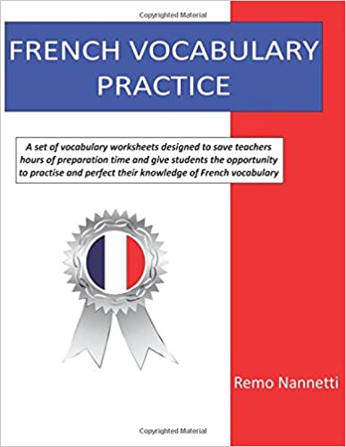 Amazon.com: French Vocabulary Practice (9781541320185): Remo ...
