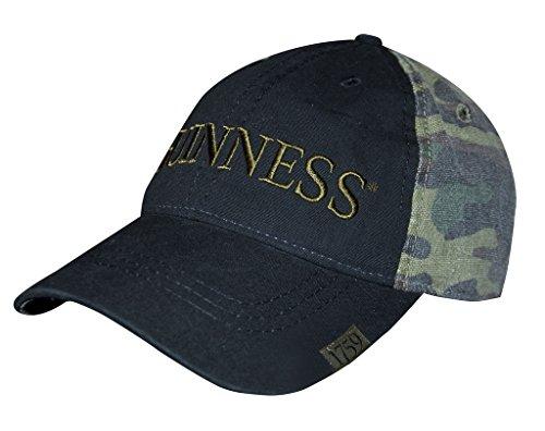 Guinness Washed Camo Print Baseball Cap ()