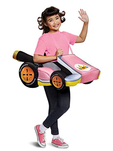 Disguise Peach Kart Child Child Costume, One Size Child