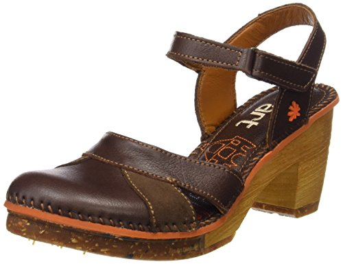 Art 0313 with Women''s Memphis Amsterdam Strap Sandals Brown Ankle 44xBURr5q