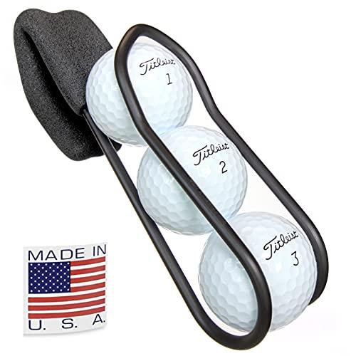 Soporte para pelota de golf con liberación rápida