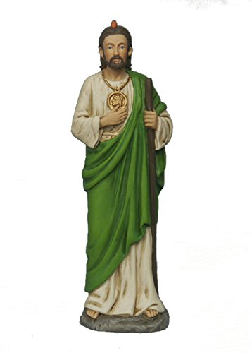 HLT St. Jude 4 inch resin statue in box - Patron saint of the Impossible