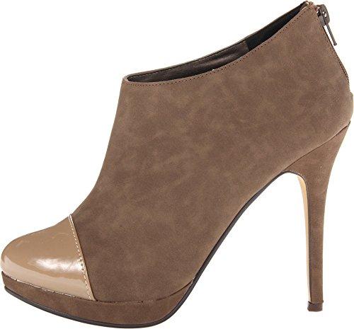 Savner En Kvinner Moxby En Gråbrun / Gråbrun Boot