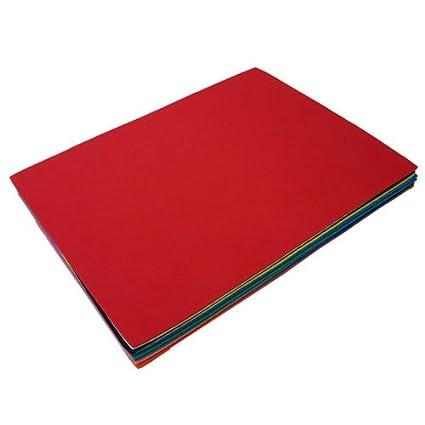 Cortes gomaespuma - Kit con 12 unidades multicolor, apr. 30 x 23 x 0