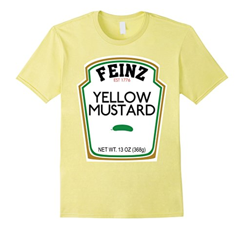 Mens Mustard Matching Best Friend Halloween Costume T-Shirt Small (Matching Best Friend Halloween Costumes)