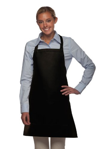 Commercial Quality 2-pocket Aprons - woman wearing apron