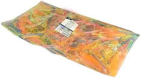 1 x 1000 St/ück PS 9,3 cm neon 1000 Eisl/öffel