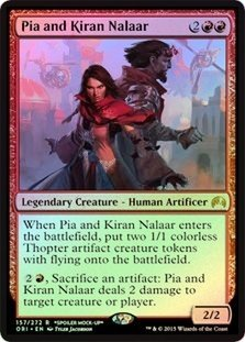 Magic: the Gathering - Pia and Kiran Nalaar (157/272) - Unique & Misc. Promos - Foil