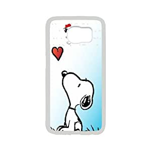 [H-DIY CASE] For Samsung Galaxy S6 -Love Snoopy-CASE-10