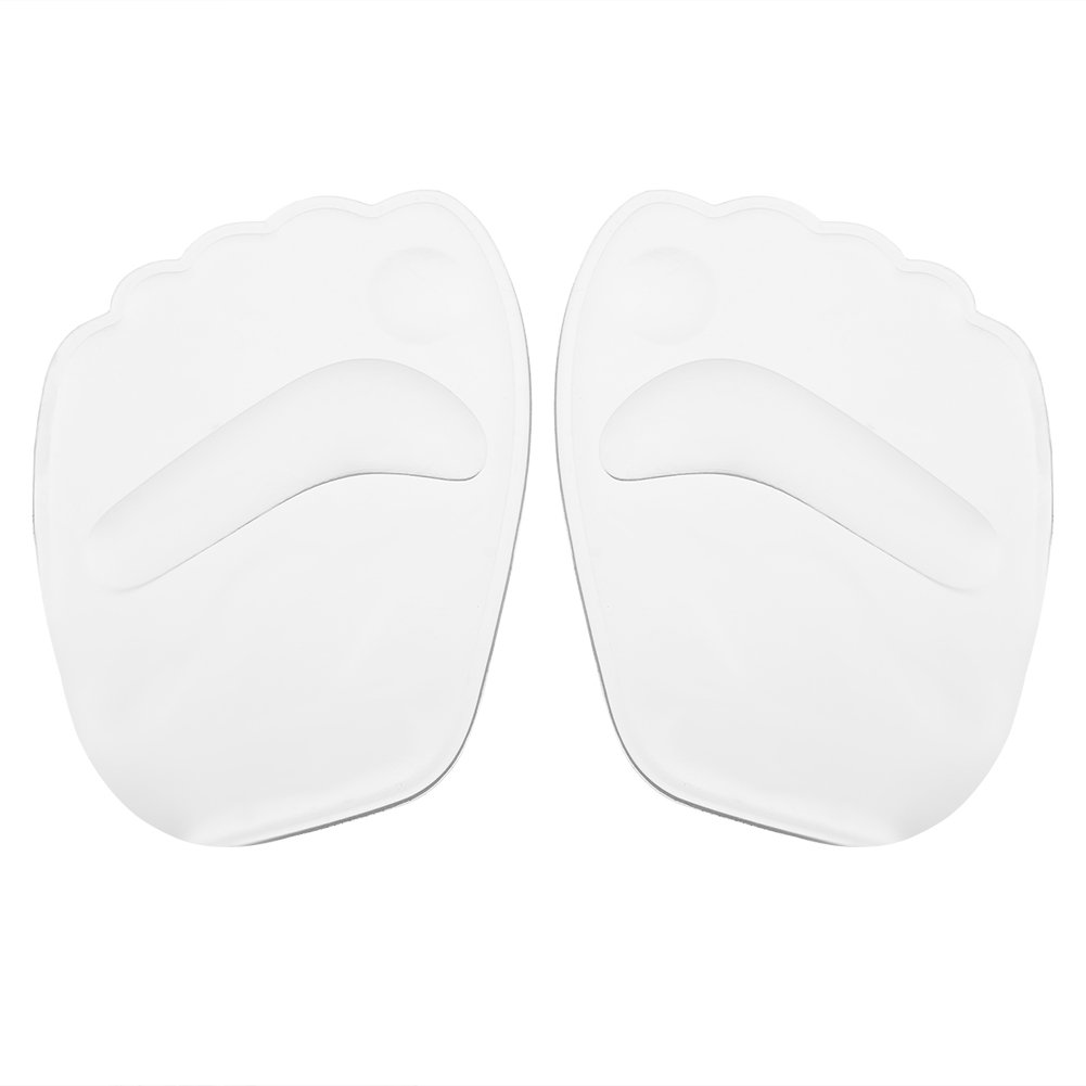 Forefoot Cushion, Asixx 2pcs New Useful Gel Non-slip Forefoot Elastic Silicone High Heel Shoe Insoles Cushion for High-Heeled High Shoe Prevent the Foot From Sliding Forward(2Pcs)