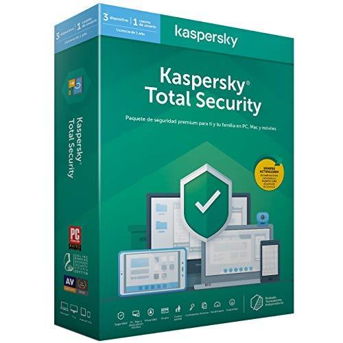 Kaspersky 2020 Total Security Antivirus 3 Licencias 1 Ano