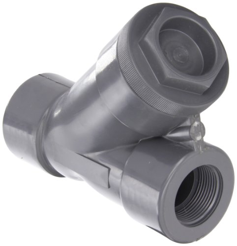 Hayward PVC Y-Strainer, FPM Seal, 1-1/4'' Threaded by Hayward Flow Control