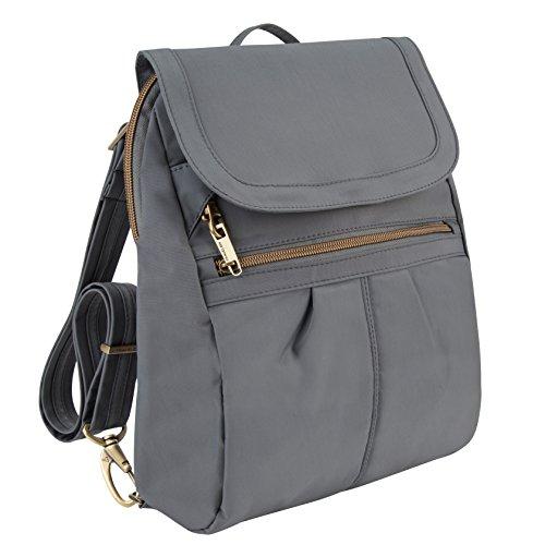 Travelon Anti-Theft Signature Slim Backpack, - Gift Card Warehouse Sunglasses