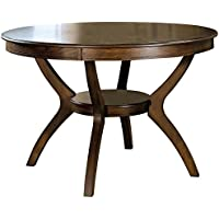 Monarch Specialties Cayce Round Dining Table