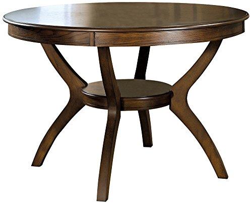 Coaster Dining Table 48 Inch Walnut