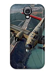 Kim L Washington Scratch-free Phone Case For Galaxy S4- Retail Packaging - Bomber