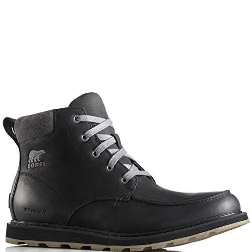 Zip Moc - SOREL Men's Madson Zip Boots, Black, 12 M US