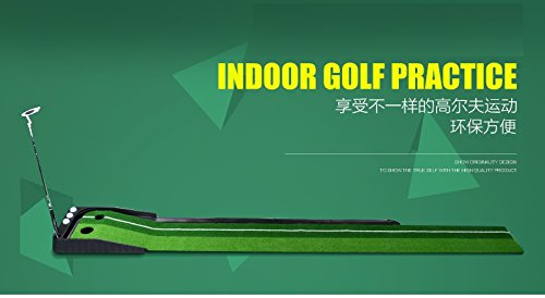 Indoor Golf Set P4G Ball Auto Return Putting Mat Indoor and Outdoor Mini Golf by P4G (Image #2)