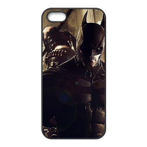 R7R84 Batman Arkham origines Y5K4VX coque iPhone 4 4s cellulaire cas de téléphone couvercle coque noire RX1VTG0SE