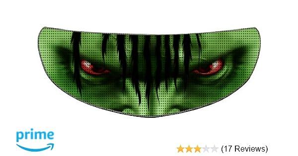 Amazon.com: SkullSkins Aggressive Rider SK Motorcycle Shield Skin (Green): Automotive