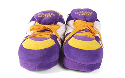 Comfy Lakers NBA and Mens OFFICIALLY LICENSED Angeles Los Sneaker Feet Feet Happy Slippers and Womens rxgBr