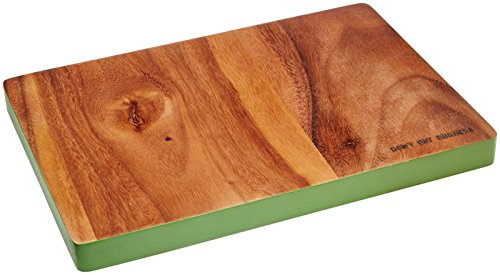 KSNY All in Good Taste Wood Cutting Board Rectangle, Brown