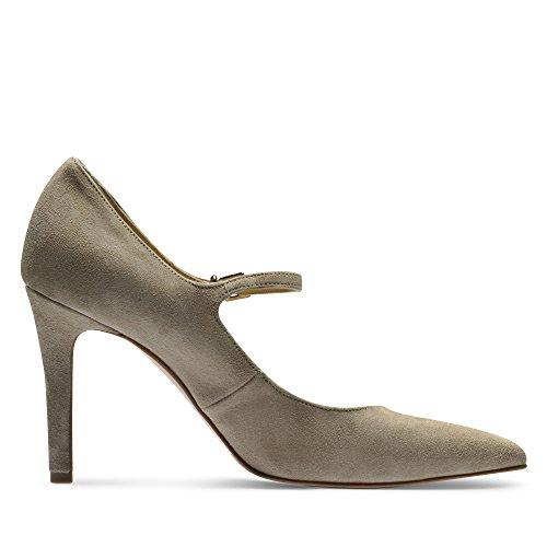 beige para de Shoes de Vestir Piel Beige Zapatos Mujer Evita 1qzZYgz