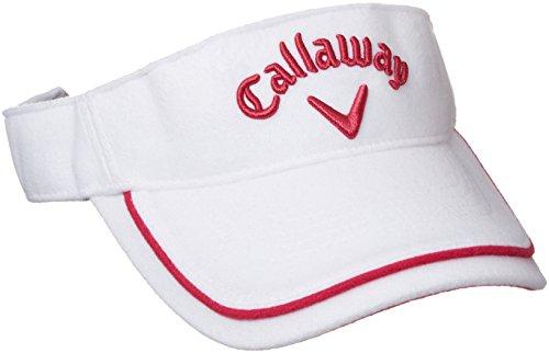 輝く罪悪感教育者(キャロウェイ アパレル) Callaway Apparel 定番 ウール バイザー (サイズ調整可能) 帽子 ゴルフ / 247-7290901 [ レディース ]
