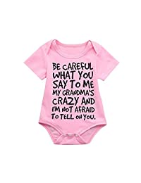 EISHOW Newborn Kids Baby Romper,Boys Girls Jumpsuit T-Shirt